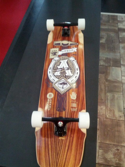 ISPO 2013: Arbor - Longboard Backlash