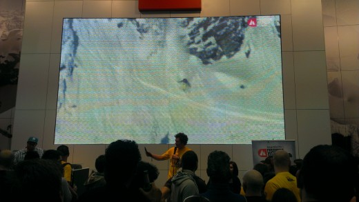 ISPO 2013: De le Rue auf der The North Face-Bühne