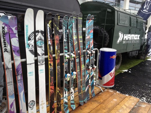 ISPO 2013: HAMOX - Ski where it belongs