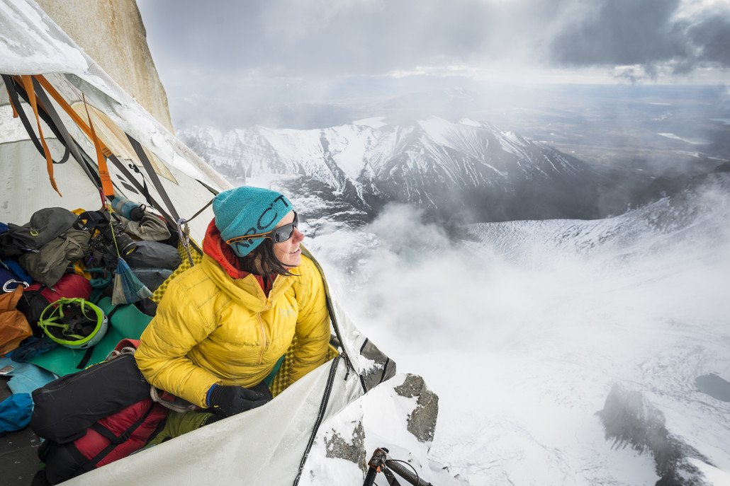 News – Arc'teryx / adidas Outdoor / LOWA: Riders on the Storm – Ines Papert meistert schwere Kletterroute in Patagonien