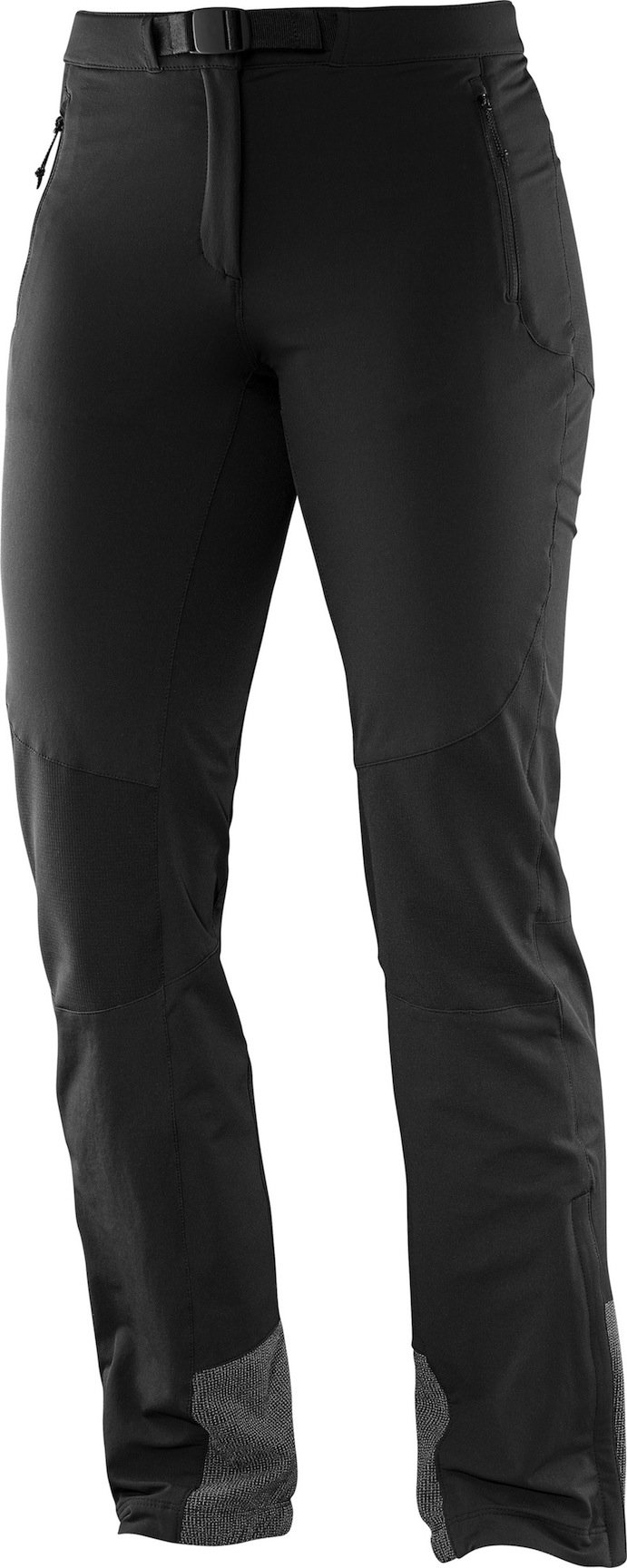 airFreshing_2016_Salomon_Sommerkollektion_Hiking_Wanderhose_Women_wayfarer_mountainpant_black