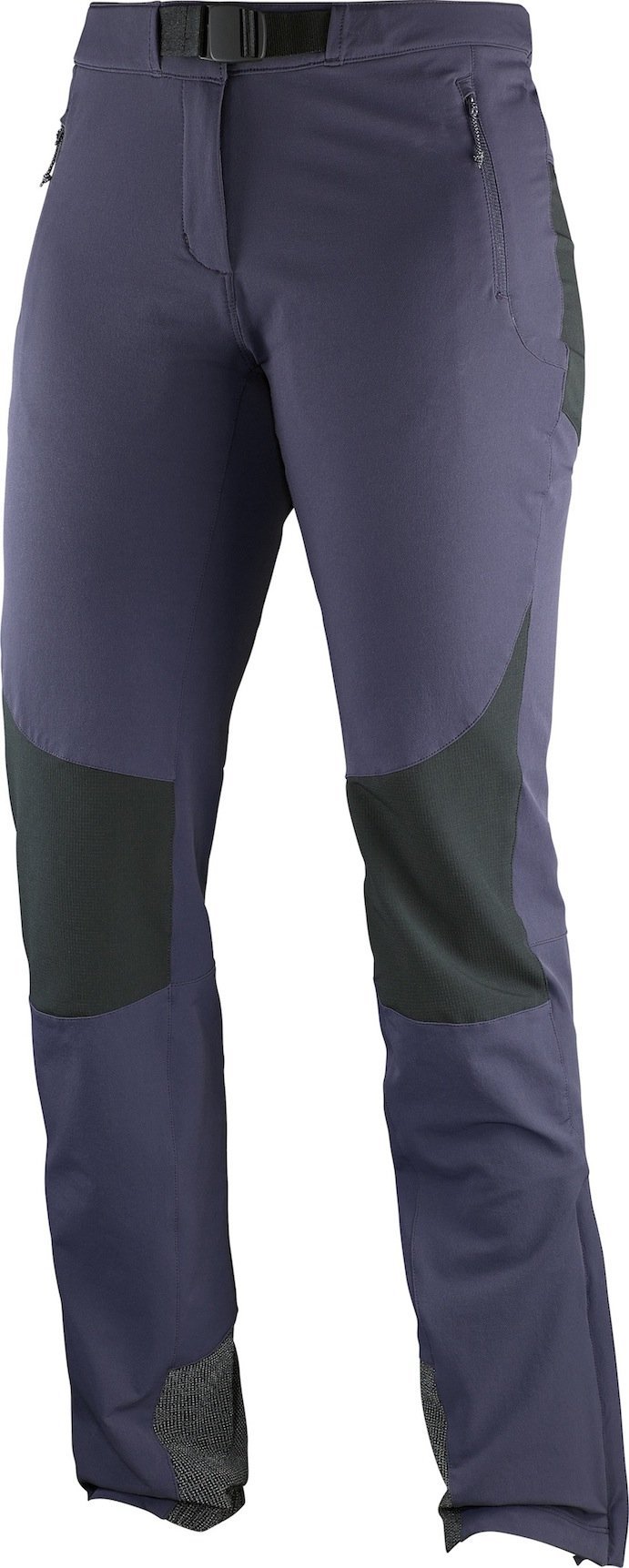 airFreshing_2016_Salomon_Sommerkollektion_Hiking_Wanderhose_Women_wayfarer_mountainpant_nightshade