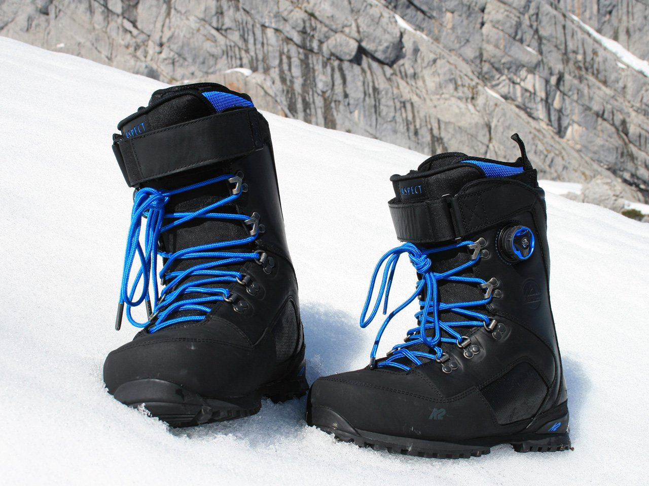 Testbericht –  K2 Aspect Touring Boot: One for all – steigeisenfester Tourenboot mit BOA-Closure-System für Splitboarder