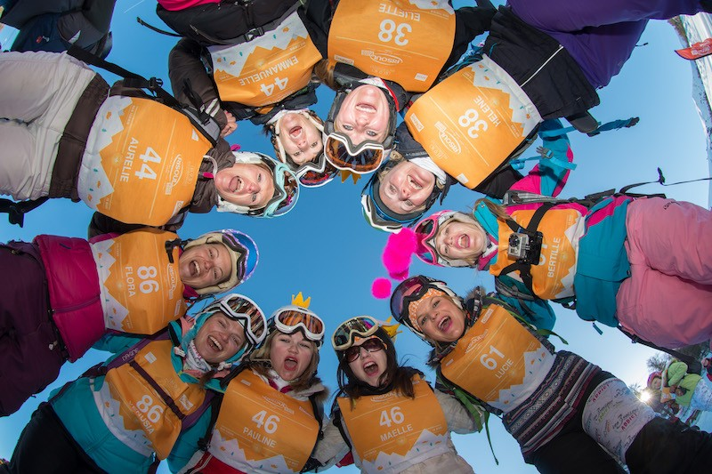 Event – Skigebiet Les Menuires: 'Pop in the City' – die ultimative Frauen-Challenge nicht nur für Sportskanonen