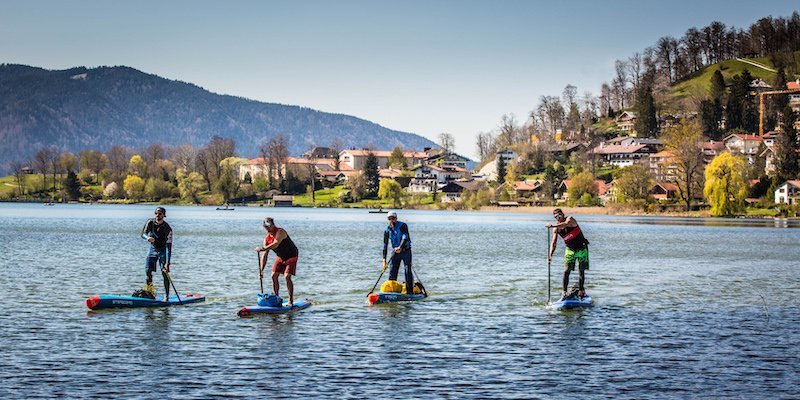 News – Istrien SUP Challenge powered by Starboard: Stand-up-Paddler umrunden Istrien für den Delphinschutz