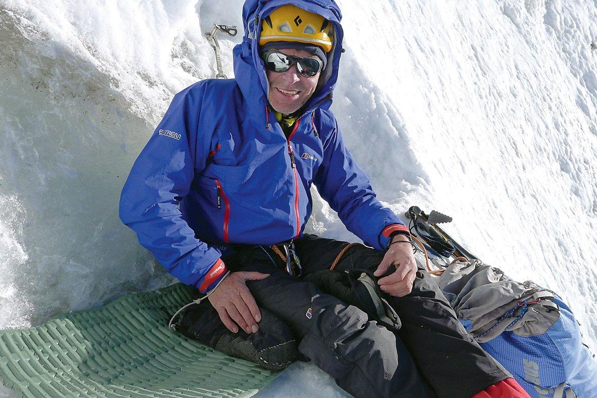 Berghaus-Athlet Mick Fowler: Route auf den Shiva im 30ten Expeditions-Jahr