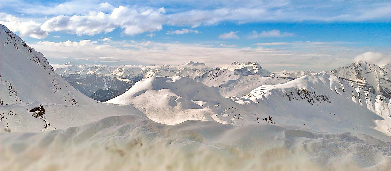 Schweiz - Verbier / St.Bernard - Panorama (© Veit Schumacher)