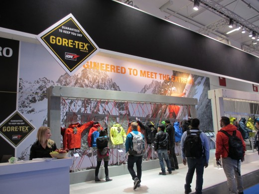 Gore-Tex Messe-Stand