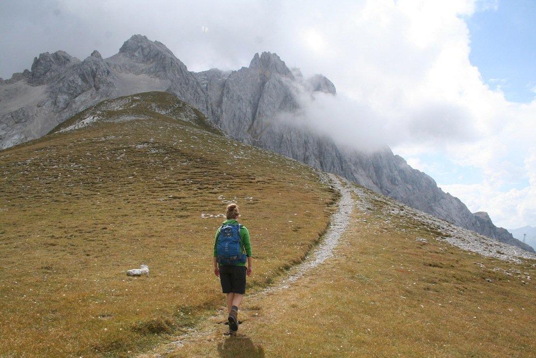 Ziele – Südliche Riffelspitze (2.262m): Anspruchsvolle Rundtour im Wettersteingebirge mit Blick auf die Zugspitze