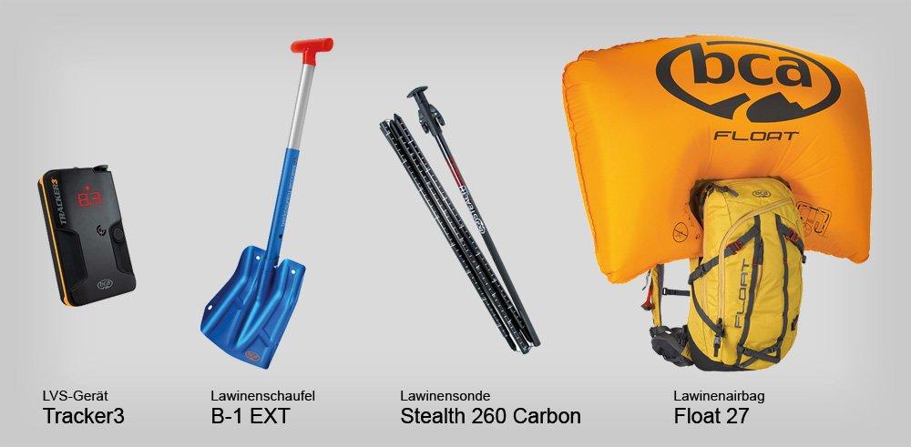 News – Backcountry Access (BCA): Komplette Sicherheitsausrüstung für Freerider und Skitourengeher