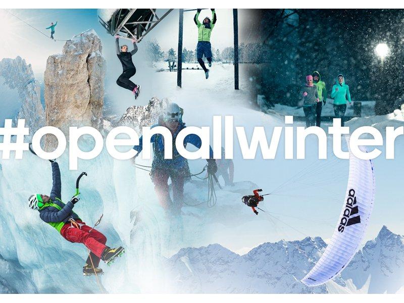 News – adidas Outdoor: Athleten starten mit neuer CLIMAHEAT Kollektion in den #openallwinter 2014/15