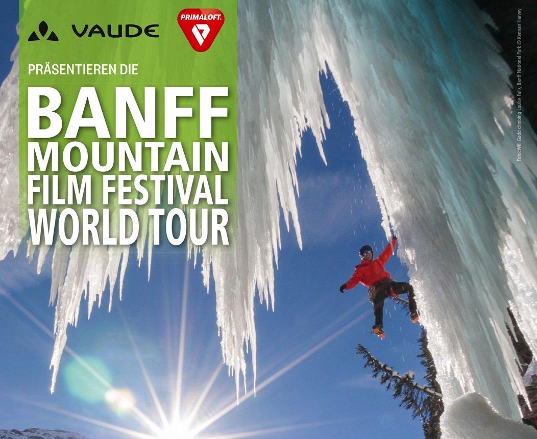 Event – Banff Mountain Film Festival World Tour 2015: BANFF 2015 = 7 Filme + 120 Minuten Natur pur + unendlich viele Abenteuer