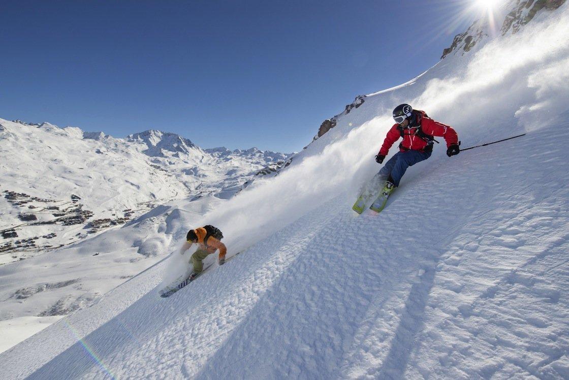 Ziele – Trois Vallées: Nach dem World Cup Finale zum Skifrühling in die französischen Alpen