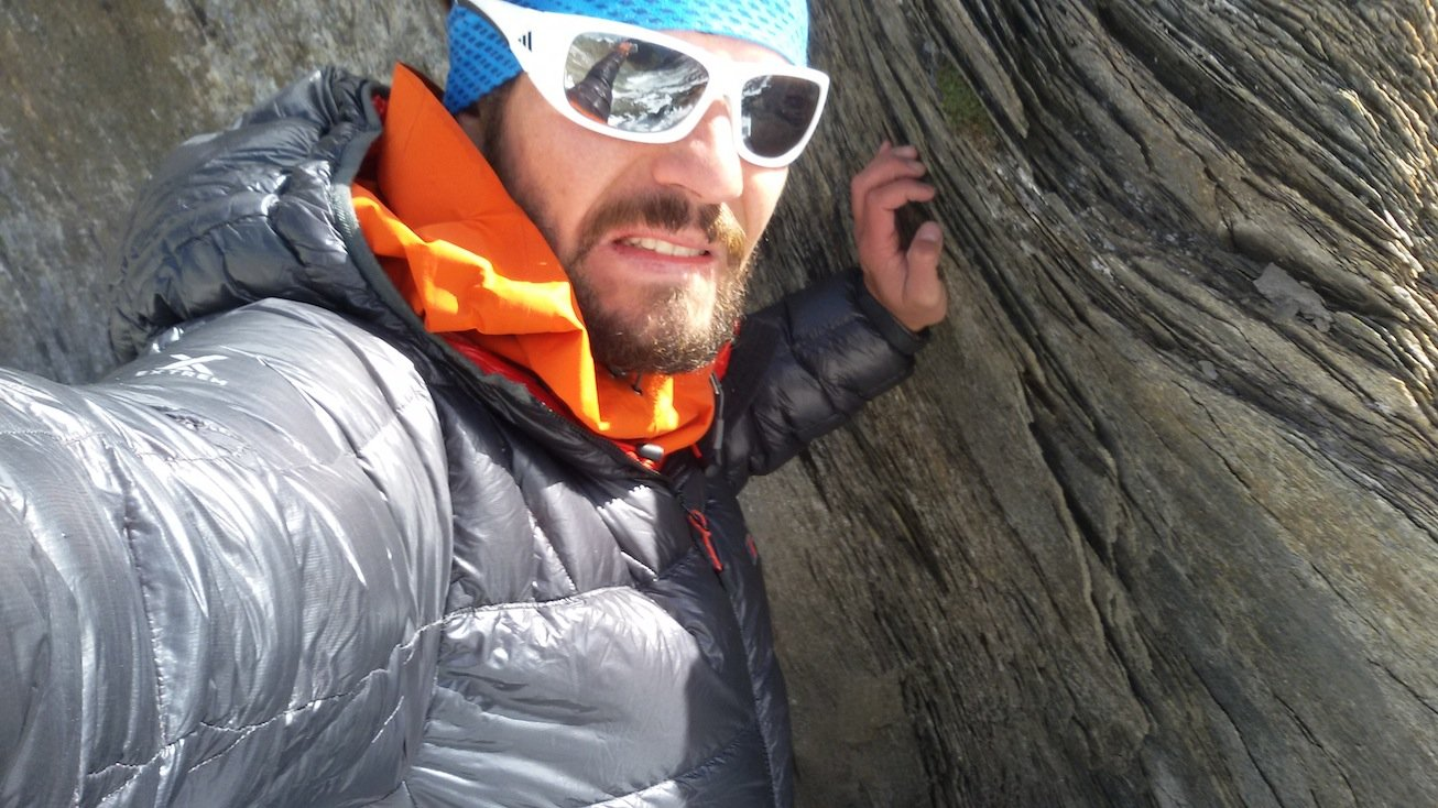 Erfahrungsbericht - Flugrettung in Osttirol: So sieht ein Bergsteiger aus, dem ein wenig das herz in die Hose gerutscht ist.  (© airFreshing.com)