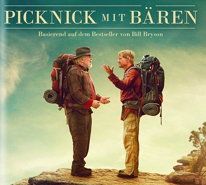 VairLosung – Alamode Film: Picknick mit Bären – wir verlosen 1x DVD und 1x Blue-ray der Outdoorkomödie
