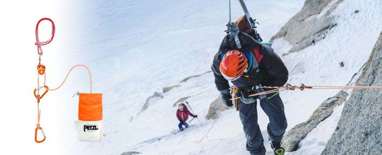 News – Petzl: Abseilen und Spaltenbergung leicht gemacht – Das ultraleichte Petzl RAD System für Skihochtourengeher und Freerider