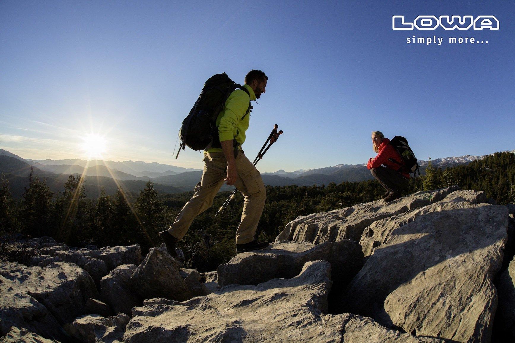 News – LOWA Sommerkollektion 2016: Highlights für den Wandersommer – vom alpinen Bergstiefel bis zum Freizeitsneaker