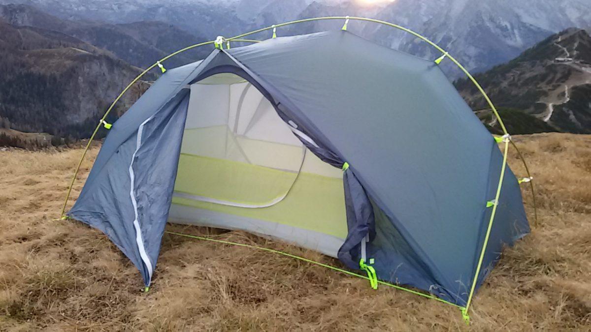 Testbericht – Jack Wolfskin Exolight II: Ultraleicht-Zelt für zwei Personen und lauschige Nächte unter freiem Himmel
