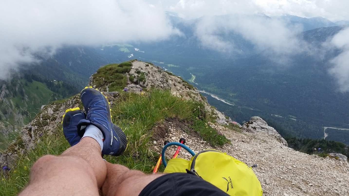 Ziele – Brunnenkopf (1.718m), Große Klammspitze (1.924m), Feigenkopf (1.866m) & Grubenkopf (1.847m): Trailrunning-Rundtour über gleich vier Gipfel in den Ammergauer Alpen