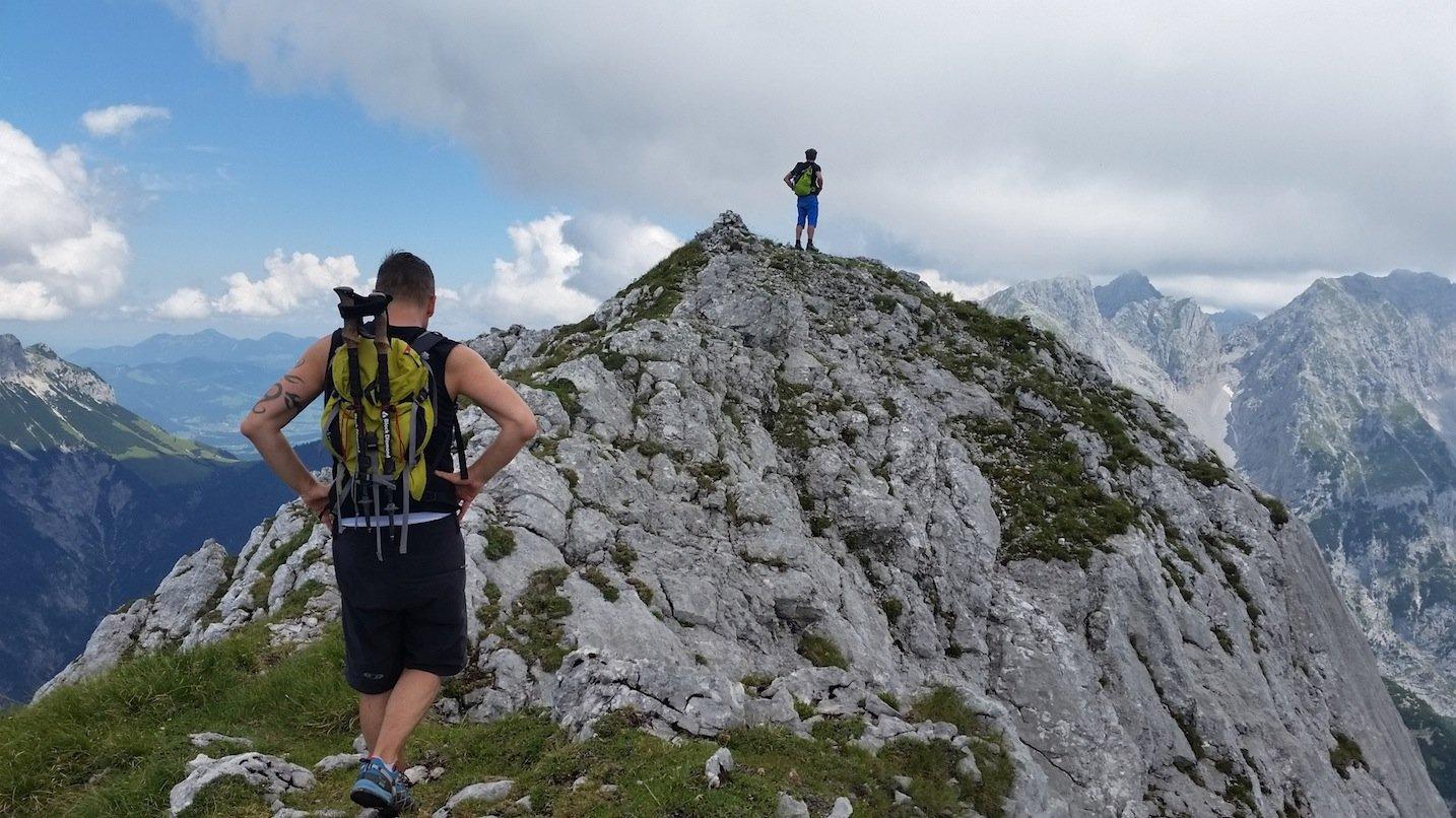 Ziele – Scheffauer (2.111m), Hackenköpfe (2.125m) & Sonneck (2.260m): Anspruchsvolle Bergtour mit spektakulärer Gratüberschreitung im Wilden Kaiser