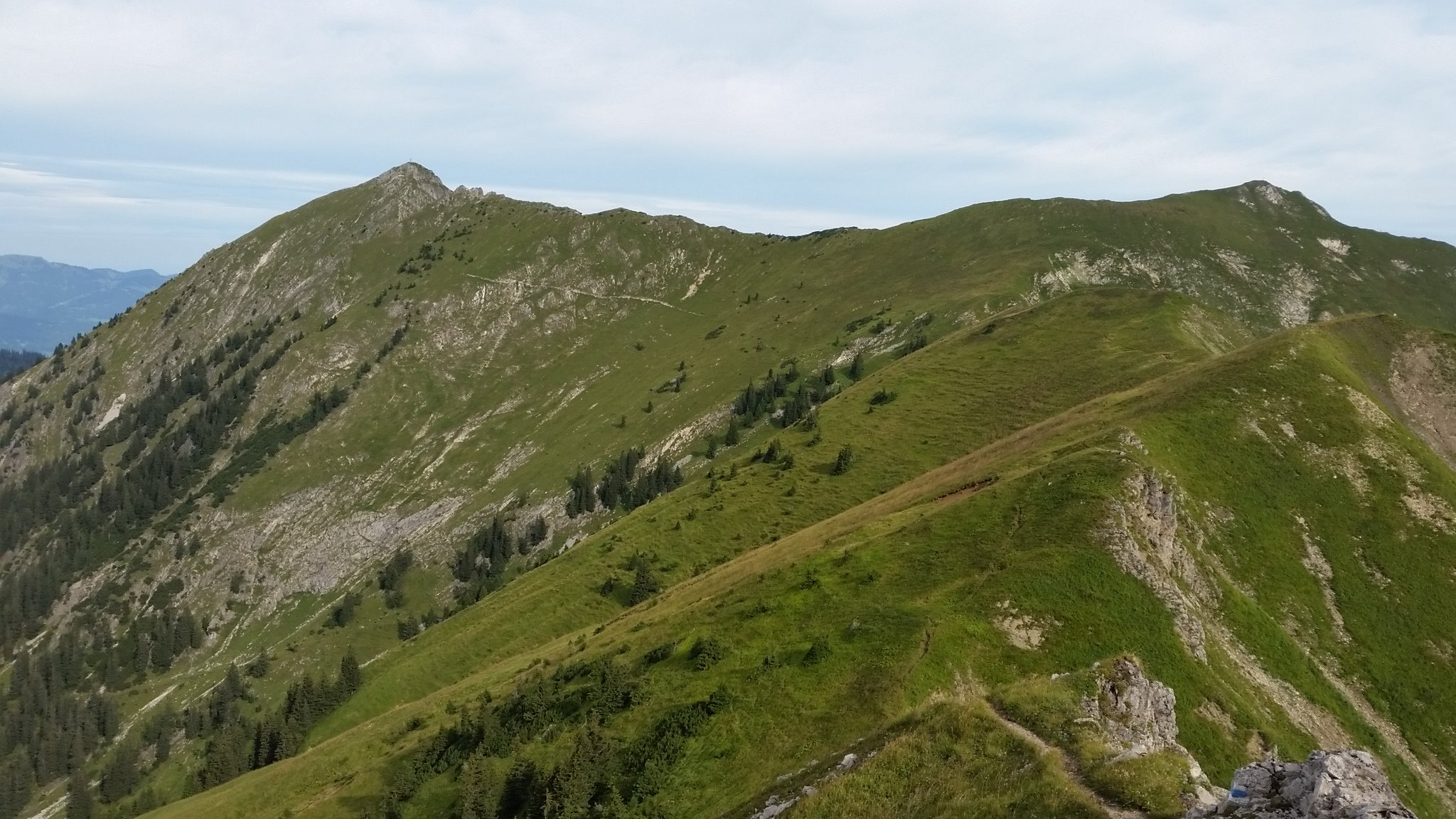 Ziele - Große Klammspitze (2.280m): Flowige Trails auf dem Weg zum Heubatkopf (© airfreshing.com)