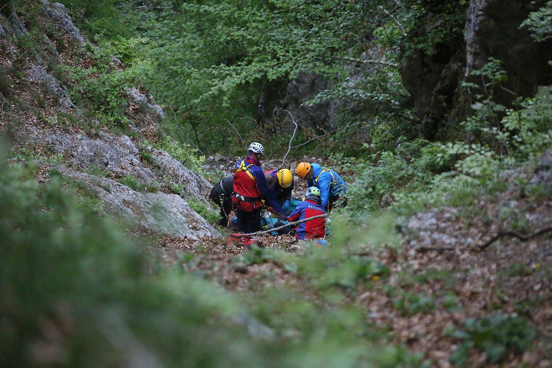 News - DAV Bergunfallstatistik 2015: Zumeist gehen Bergunfälle eher glimpflich aus (© DAV / Bergwacht Bad Reichenhall)