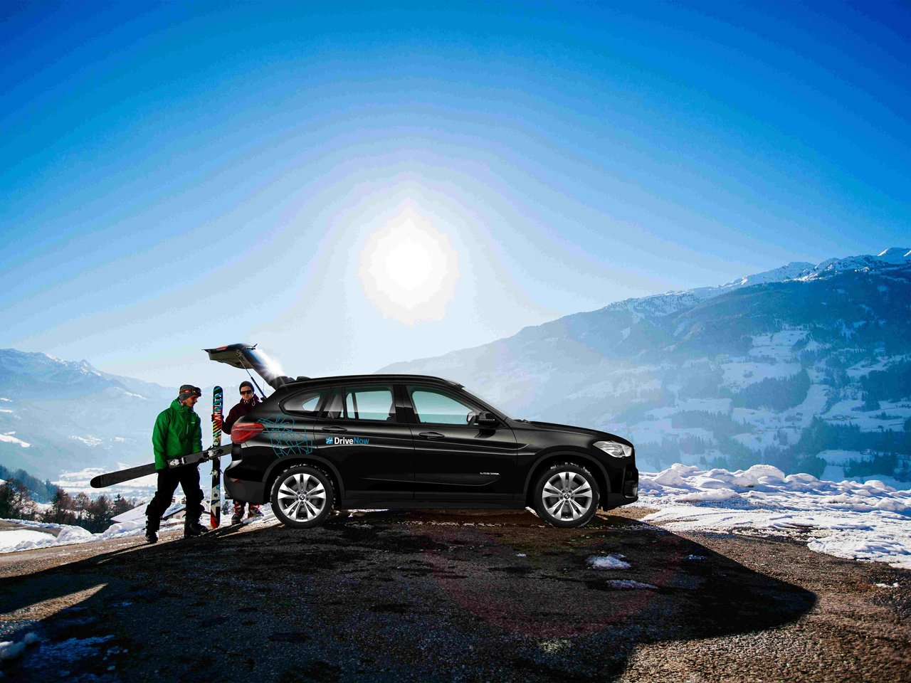 News – DriveNow: Einsteigen, buchen und ab in die Berge – mit Carsharing ins Hochzillertal und zurück