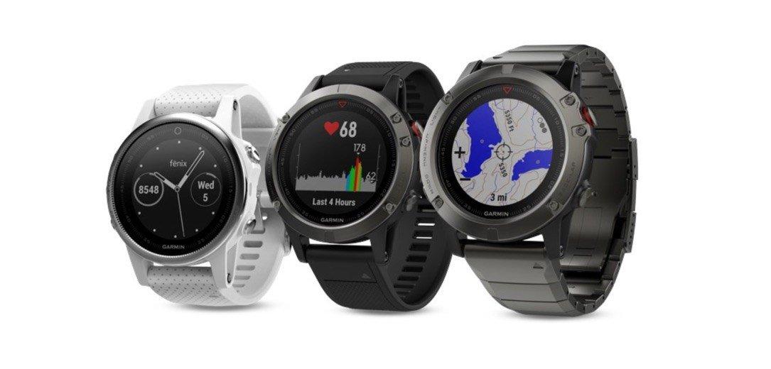"""News – Garmin fenix 5: High five – von wegen """"nur"""" die fünfte Smartwatch am Arm"""