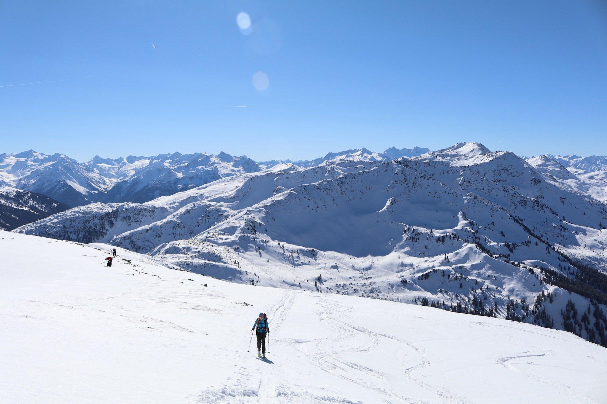 Ziele – Steinbergstein (2.215m): Mittelschwere Skitour und/oder Schneeschuhtour in den Kitzbüheler Alpen