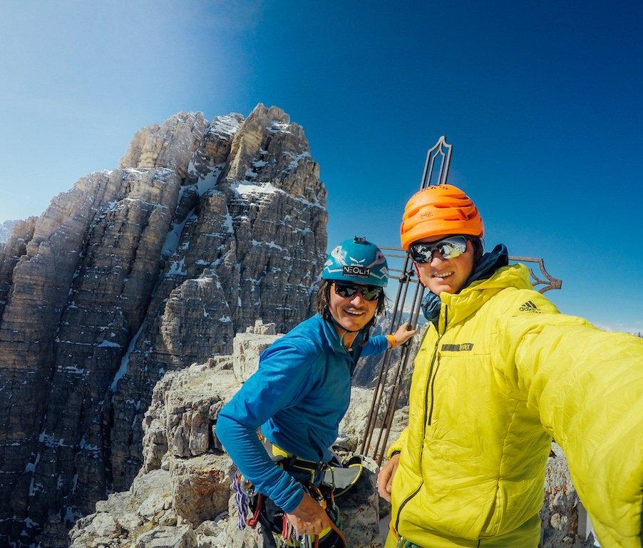 News – adidas TERREX & SALEWA: Michi Wohlleben & Simon Gietl gelingt erste Traverse der Drei Zinnen im Winter