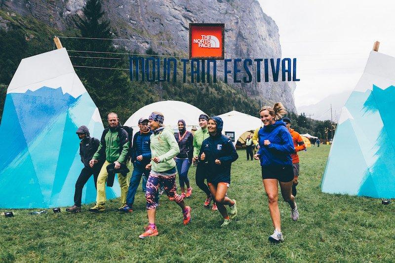 Event – The North Face Mountain Festival 2017: Ein Wochenende lang Canyoning, Klettern, Laufen, Paragliden oder Wandern