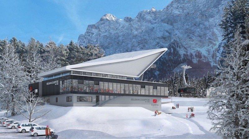 News – Bayerische Zugspitzbahn Bergbahn AG: Neue Zugspitz-Seilbahn nimmt am 21. Dezember offiziell den Betrieb auf