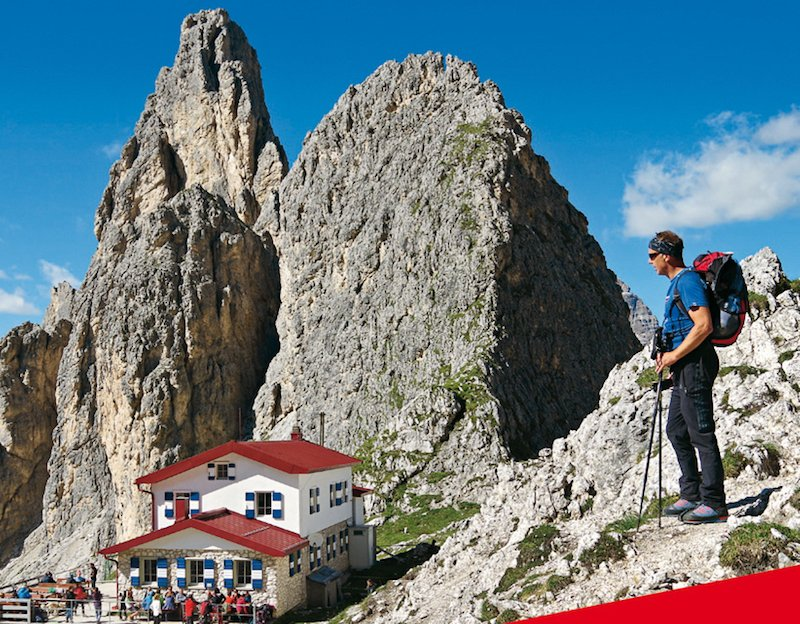 News – Rother Bergverlag: Neuer Wanderführer – in 70 Etappen über die Alpen von Wien zum Lago Maggiore