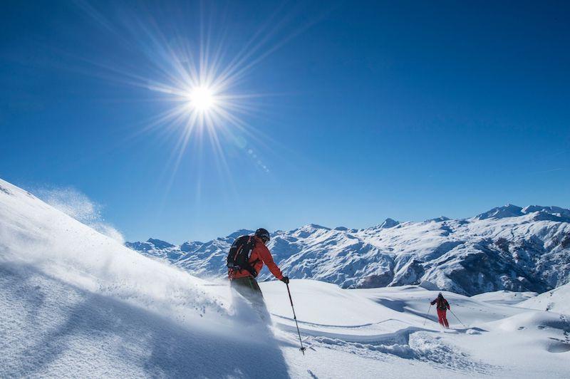 """Ziele – Les Menuires & Saint Martin de Belleville: Schneesicher von Dezember bis April – das französische Skigebiet """"Les Trois Vallées"""""""
