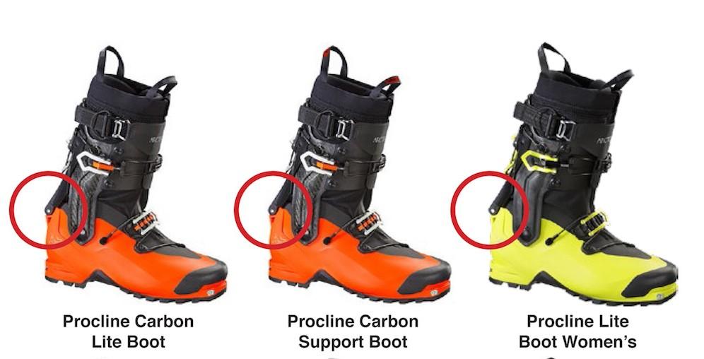 News – Rückruf: Mögliche Sicherheitsprobleme bei den 2016er Procline Ski Boots von Arc'teryx