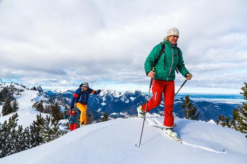 Winter – Chiemgau Tourismus: 7 Skitouren-Highlights in den Chiemgauer Alpen – von Hochfelln bis Geigelstein