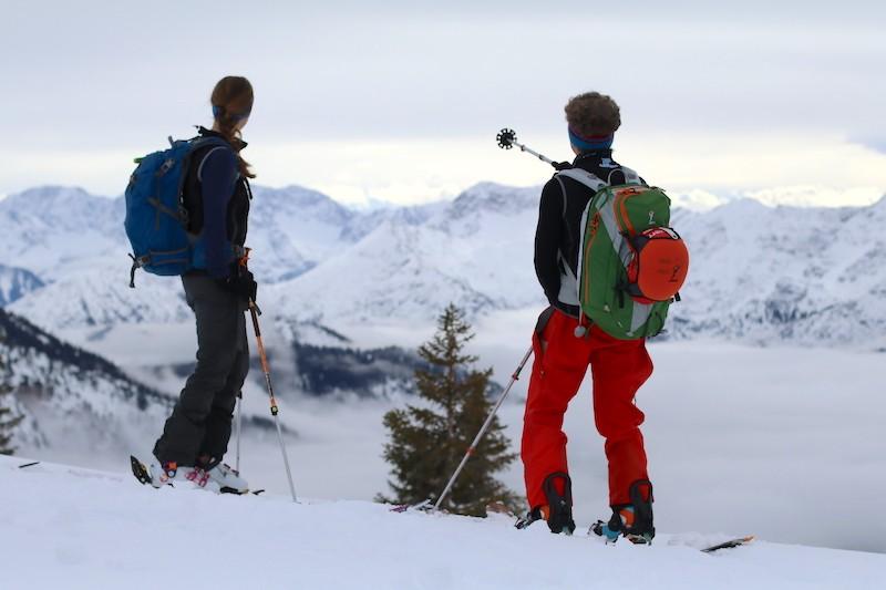 Ziele – Hochblasse (1.980m): Mittelschwere Skitour in den Ammergauer Alpen mit gigantischem Panorama