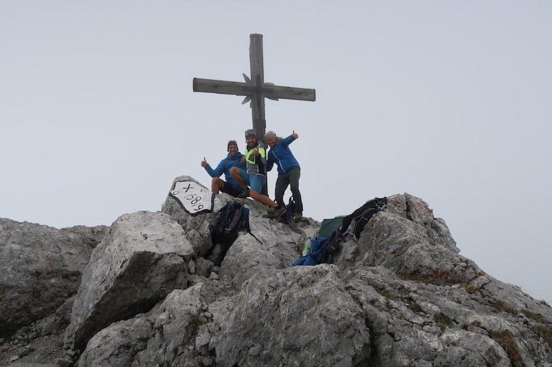Ziele – Kammerlinghorn (2.484m): Mittelschwere Bergtour in den Berchtesgadener Alpen mit Traumpanorama