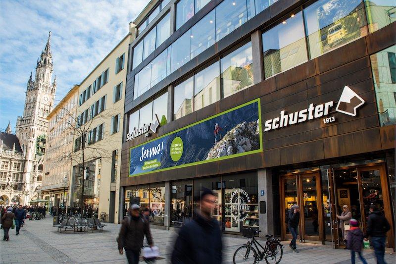 """News – Sporthaus Schuster: Münchens """"Sporthaus des Südens"""" wächst nach Umbau über sich hinaus"""