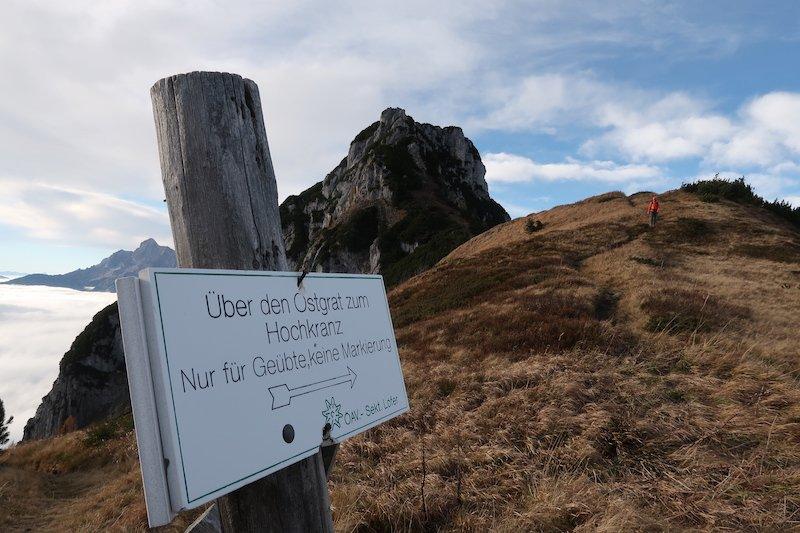 Ziele – Hochkranz (1.953m): Mittelschwere bis schwere Bergtour in den Berchtesgadener Alpen
