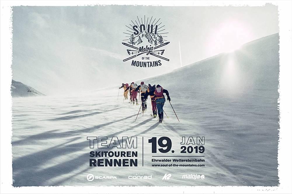 Event – Soul of the Mountains 2019: Das etwas andere Skitouren-Rennen am Fuße der Zugspitze