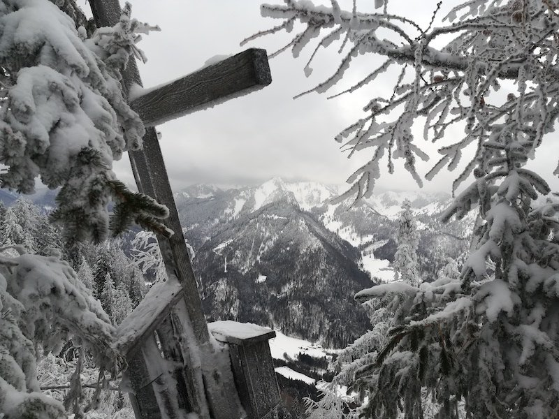 Ziele – Unternberg (1.425 m): Leichte und relativ sichere Skitour auf den Hausberg von Ruhpolding