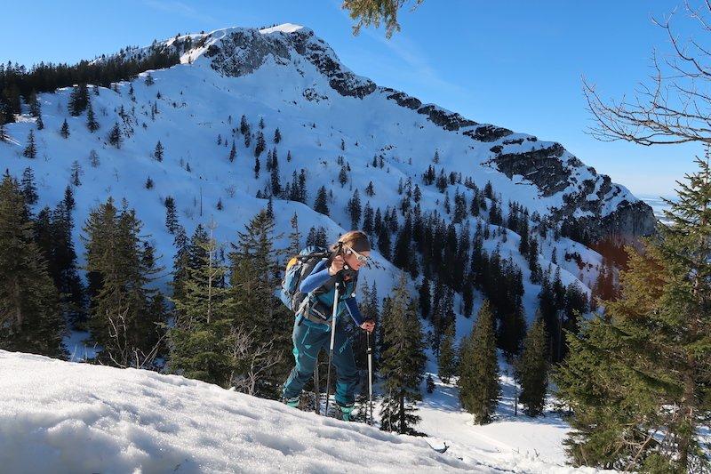 Ziele – Streicher / Inzeller Kienberg (1.594 m) und Rauschberg (1.671 m): Mittelschwere Skitour auf den Hausberg von Inzell