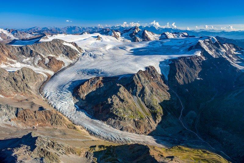 """News – Österreischischer Alpenverein: ÖAV-Gletscherbericht – Jahr 2018 war nachweislich """"sehr gletscherungünstig"""""""