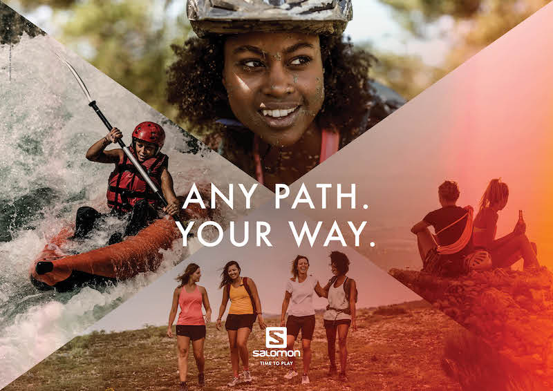 """News – Salomon """"ANY PATH. YOUR WAY."""": Salomon setzt bei globaler Markenkampagne auf Frauenpower"""