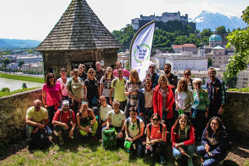 News – #estutnichtweh: Österreichischer Verein sorgt für saubere Berge statt Müllberge