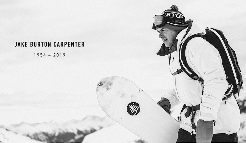 News – Jake Burton Carpenter: Ride in Peace – eine Snowboard-Legende shreddet die Heavenpipe