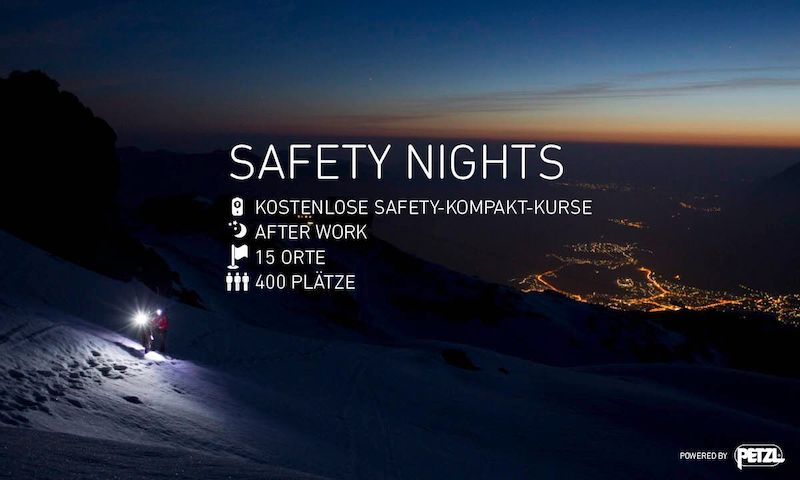 Event – Ortovox Safety Nights 2019/20: Kostenlose Lawinen-Kompaktkurse für Wintersportler