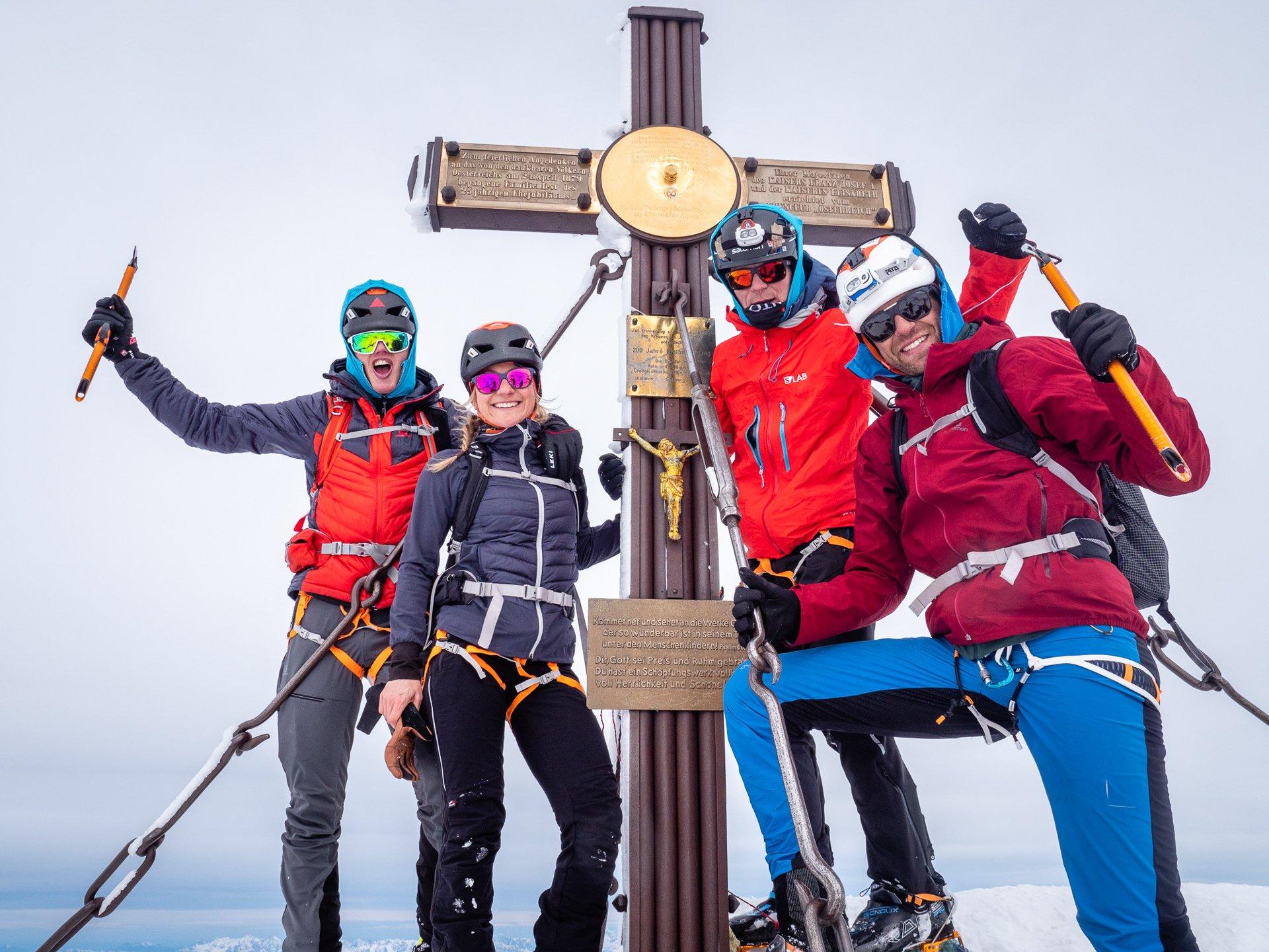 """Winter – Suunto Hochtirol 2020: Philipp Reiter und Francois D'haene meistern die """"Hoch-Tirol"""" in Rekordzeit"""