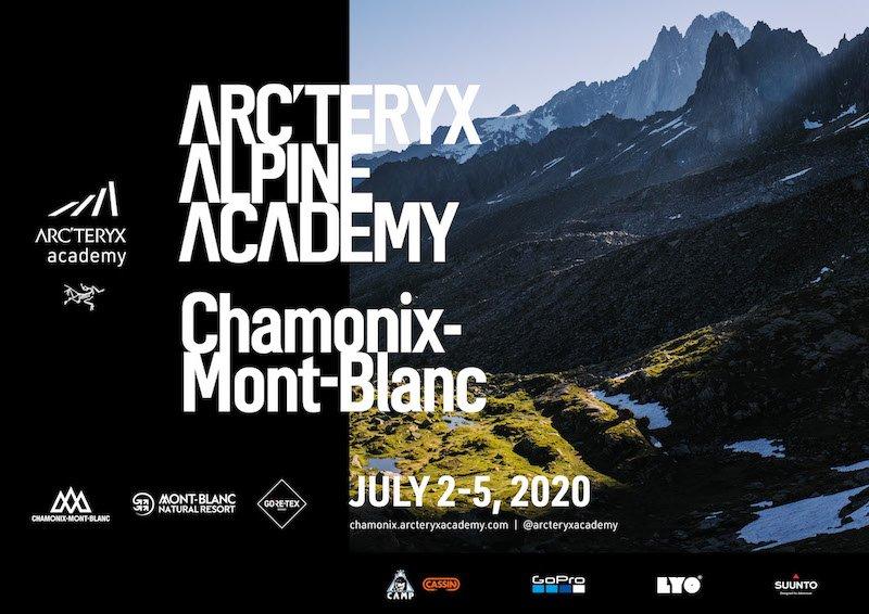 Event – ARC'TERYX ALPINE ACADEMY 2020: Weltgrößtes Outdoor-(Schulungs)Event steigt wieder in Chamonix-Mont-Blanc
